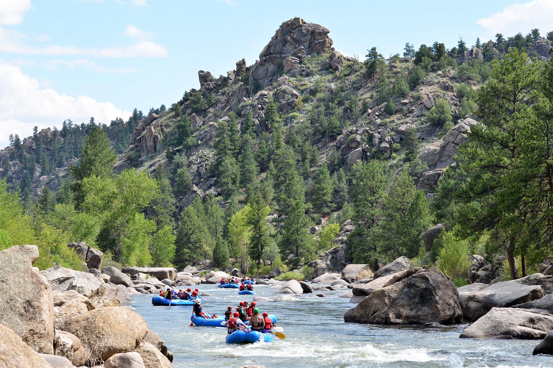 Incredible Arkansas River Rafting